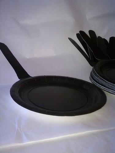 Cast iron pan plate by ashleyludwig