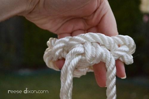Rope Bracelet Tutorial Step 6