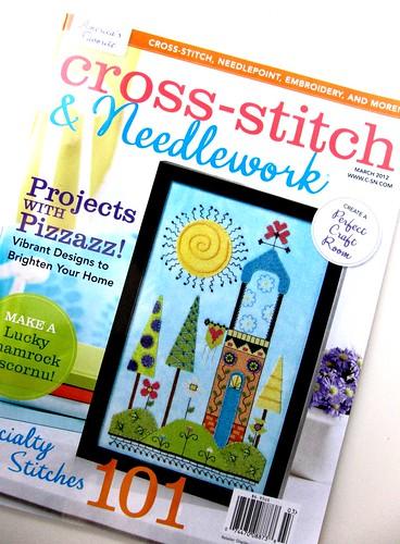 Cross-stitch and needlework magazine...