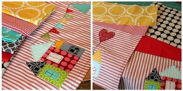 Choose waistband & tie fabrics and cut