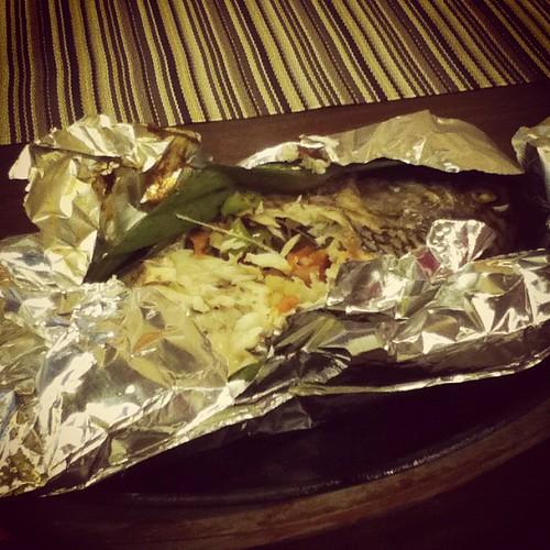 Pinaputok Na Tilapia @ Toni's Grill