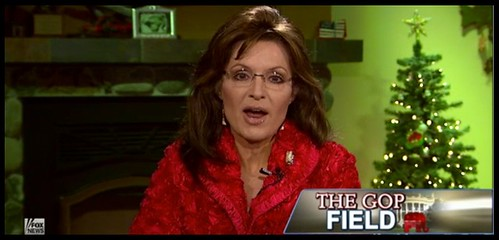 Sarah Palin - Red Bathrobe