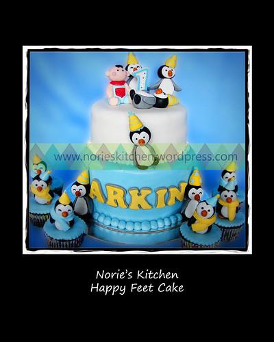 Norie's Kitchen - Happy Feet Cake by Norie's Kitchen