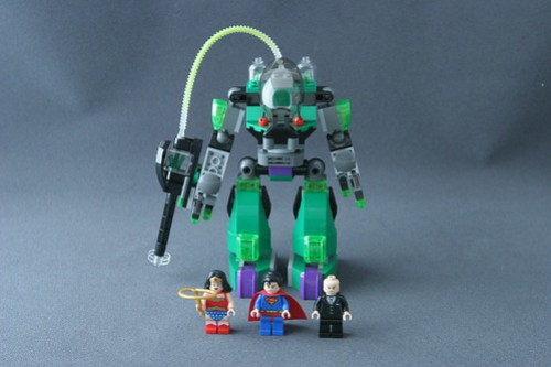 6862 Superman vs Power Armor Lex 1
