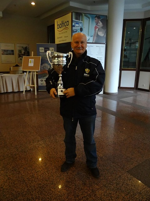Andrei Vorontsov with the Szczecin 2011 trophy