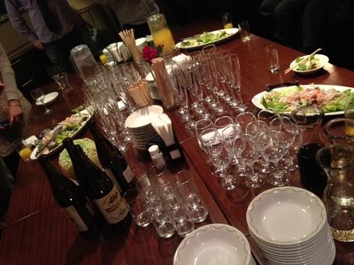 スタートはお料理から@甘党男子3周年&Xmasスイーツ交流会