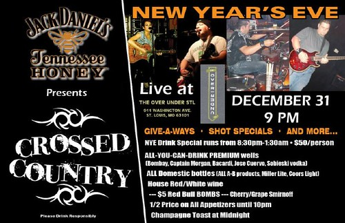 Crossed Country 12-31-11