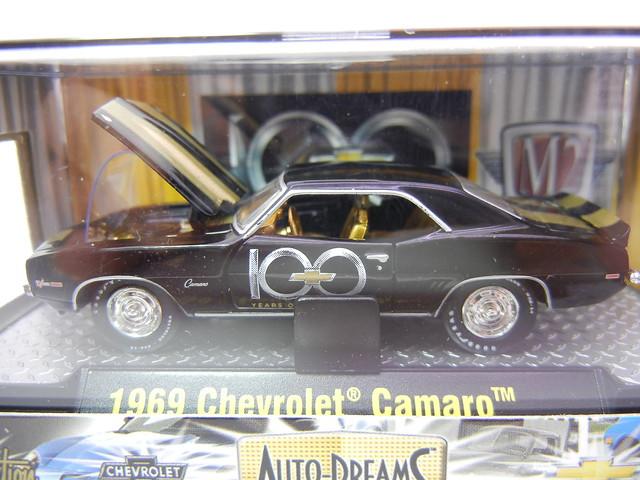 M2 AUTO DREAMS 100 YEARS 1969 CHEVROLET CAMARO (2)