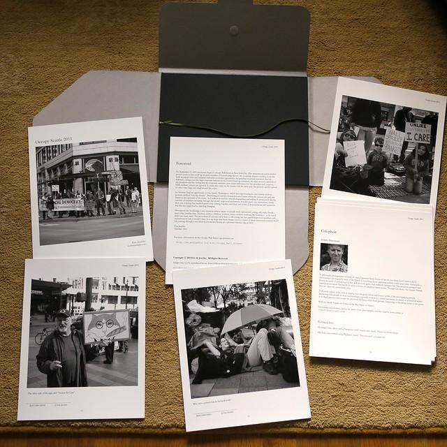 Occupy Seattle 2011 Folio