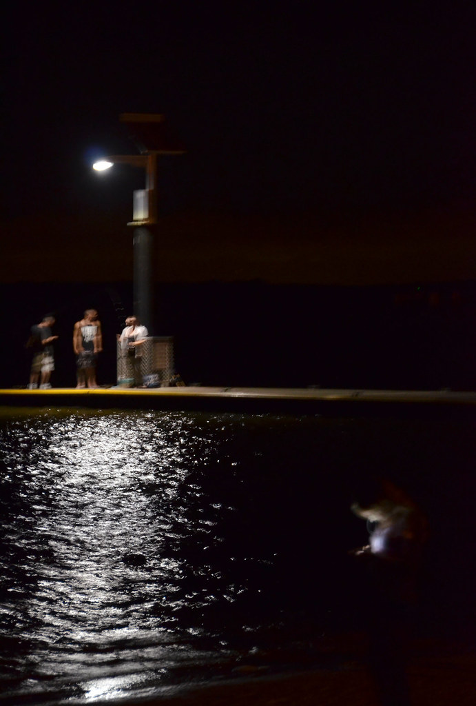 the night fishers and the girl on the shore