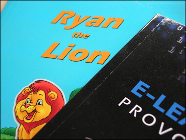 Ryan the Lion and E-Learning Provocateur: Volume 1 in paperback form