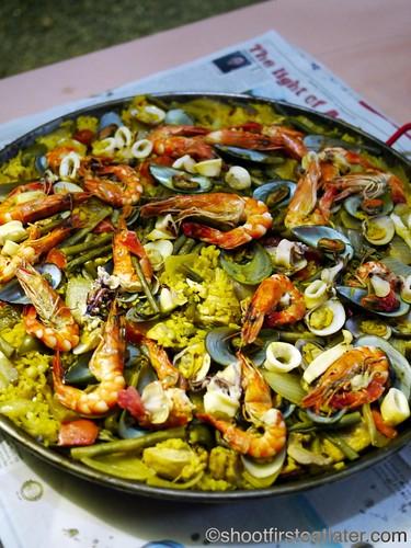 CNY 2012- paella
