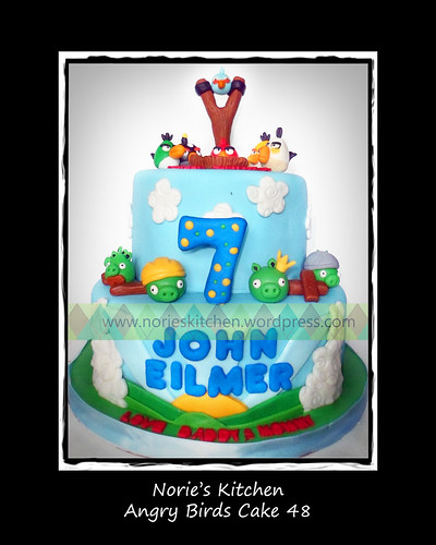 Norie's Kitchen - Angry Birds Cake 48 by Norie's Kitchen