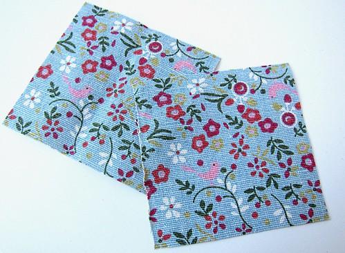 Crochet granny square and linen pincushion free tutorial 16