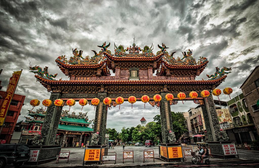 Kaitai Tianhou Temple Panoramic