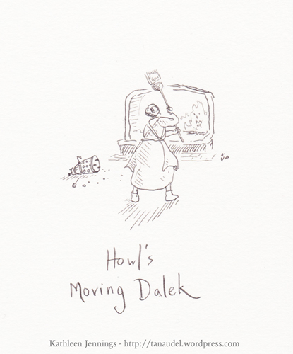 Howls Moving Dalek