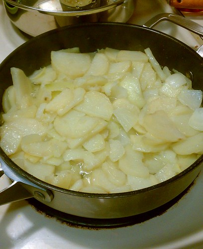 potatoes poaching
