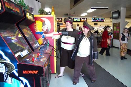 Playing Arcade Games