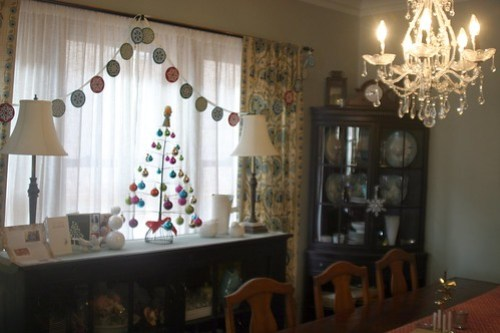 December around the house