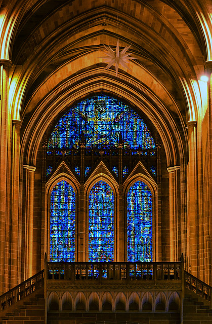 Liverpool Cathedral Stain Glass