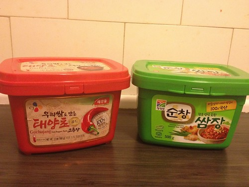 gochujang and ssamchang