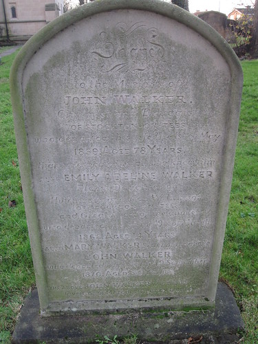 John Walkers Grave, Norton