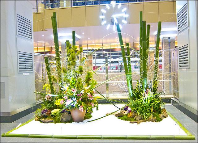 Kadomatsu en la estación de JR Osaka (Umeda)