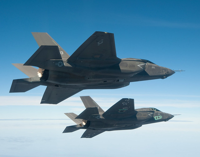 F-35B in testing. Lockheed Martin photo.