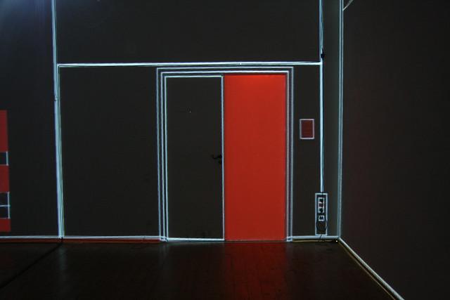 mayer+empl . kleines_k . interactive video mapping installation . munich . 2010