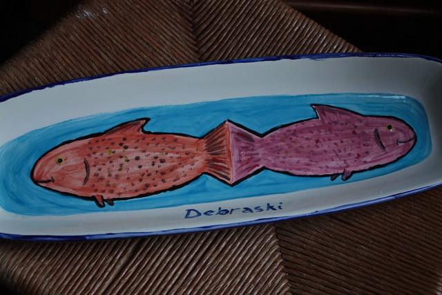 Paul's fish platter