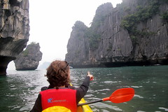 Kayaking in the Karsts