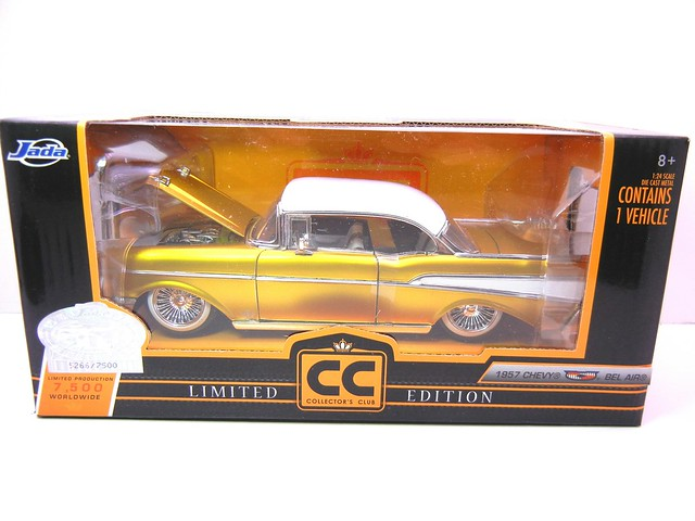 jada toys gold 1957 chevy bel air (1)