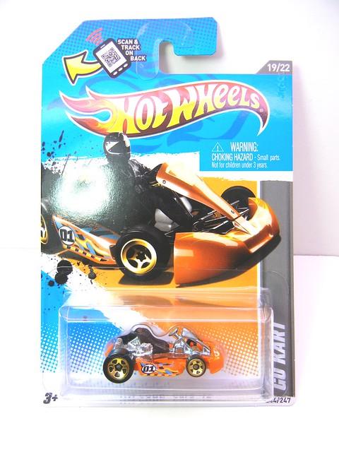 hot wheels go kart orange (2)