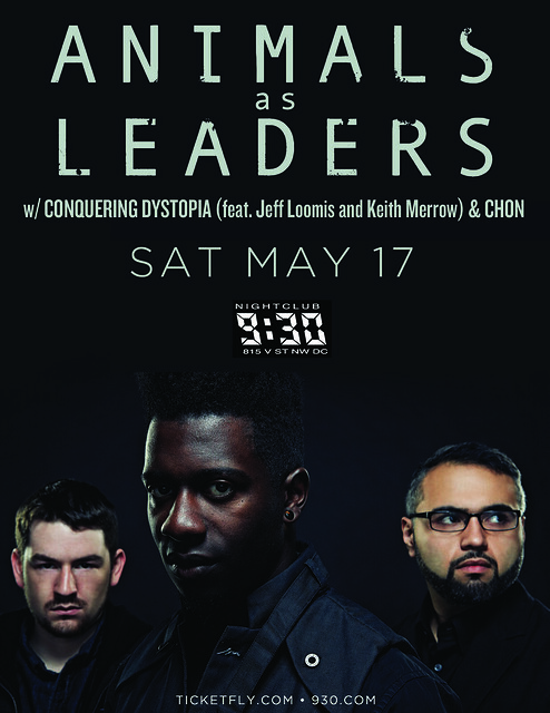 Animals As Leaders at the 9:30 Club