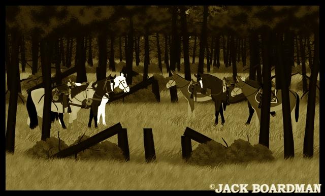 Thunderhoof suggested they find Marshal Blackmon ©2012 Jack Boardman