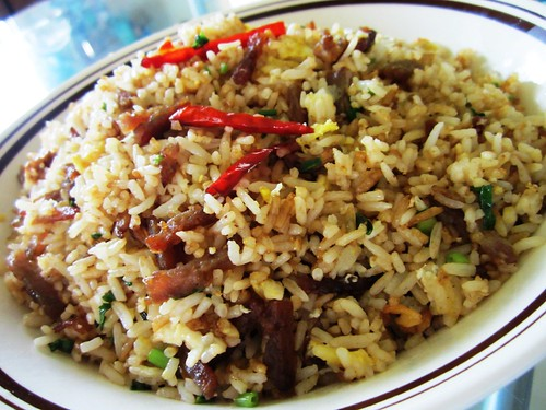 STP's bak kua fried rice 1