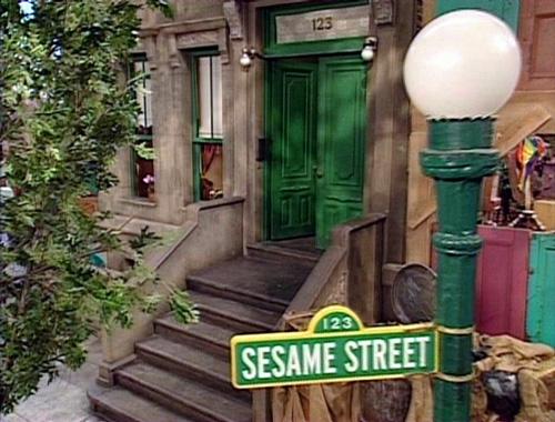 01. Ulica Sezamkowa - oryginał
