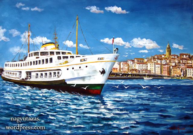 Kerim Yavuz török festőről