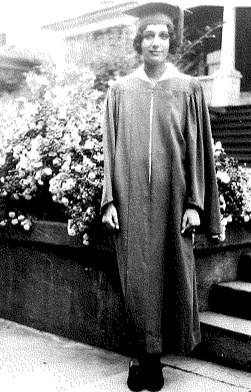 Leonora as a graduate