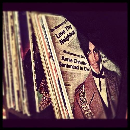 Instagram 28 Day Photo Challenge Day 16: On My Shelf- Vinyl