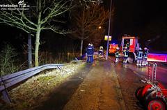 """Verkehrsunfall """"Rheinblick"""" Dotzheim 19.02.12"""