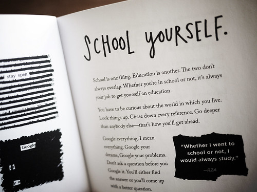 "Steal Like An Artist - ""School yourself"" by Austin Kleon"