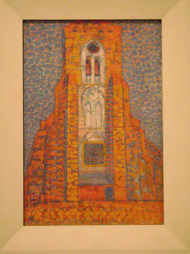 Sun, Church in Zeeland - Piet Mondrian