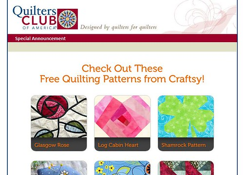 quilter's club newsletter