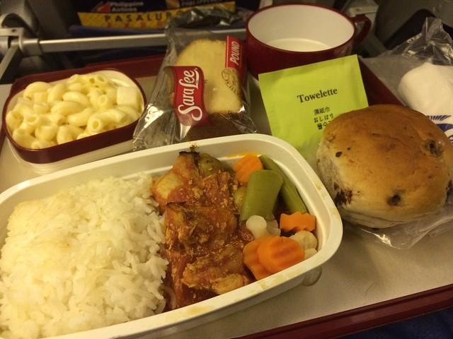 Chicken caldereta - Philippine Airlines