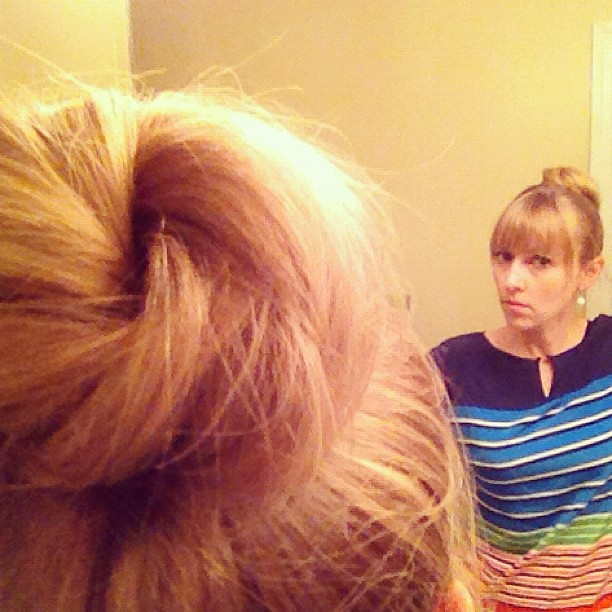 No socks were harmed in the making of this bun.