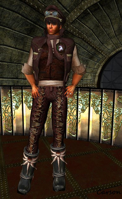 Unzipped - Steampunk Engineer Outfit