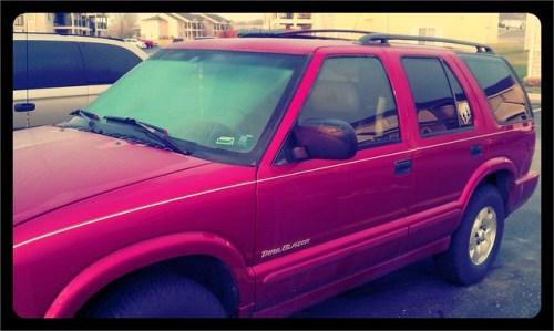 I love my car (SUV) #marchphotoaday