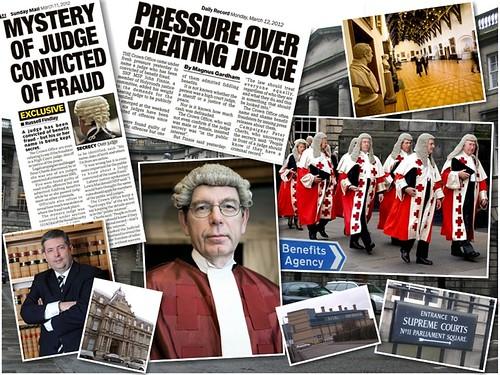 Courts Judges Scotland montage