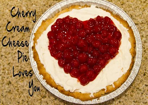 cherry cream cheese pie loves you